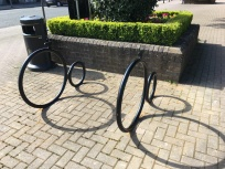 Penny Farthing - Outside Town Hall Green (Waitrose side)