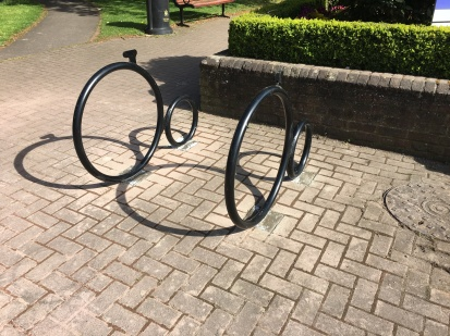 Penny Farthing - Outside Town Hall Green (Station side)